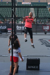 Dr. Nelson at the CrossFit Games