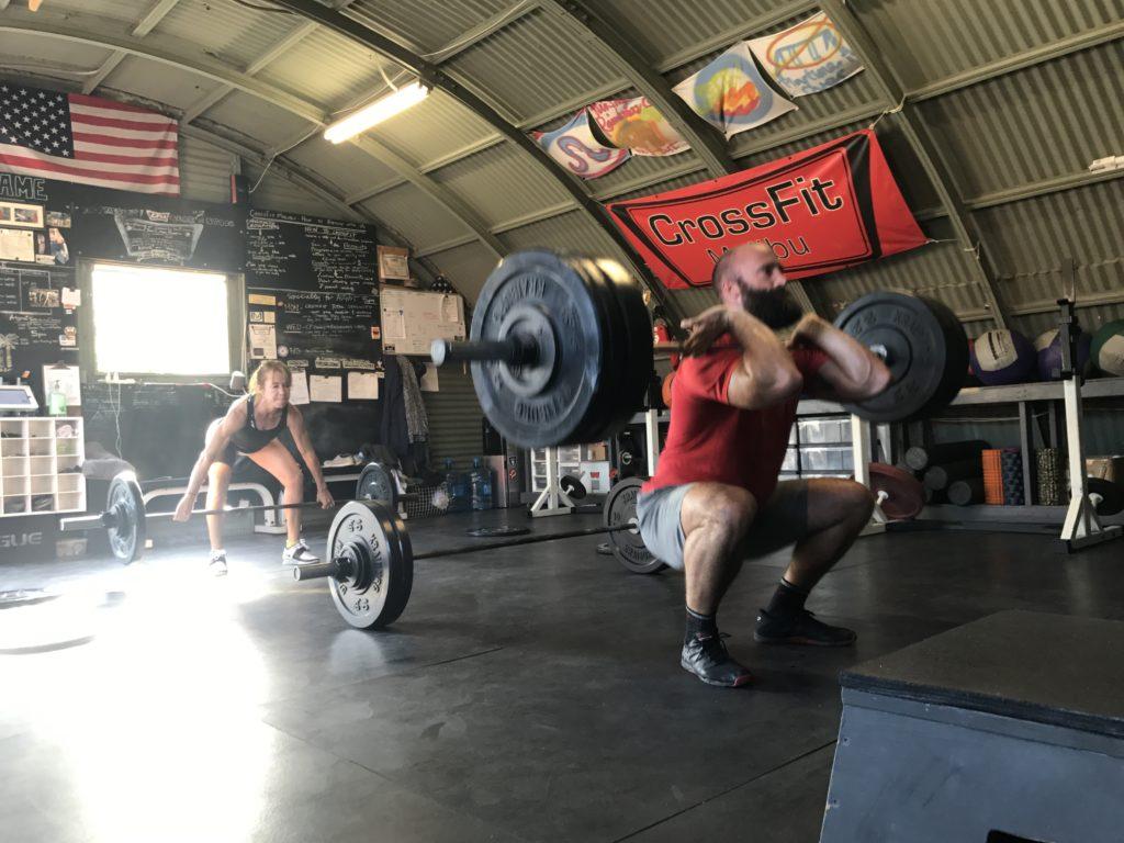 hang squat clean