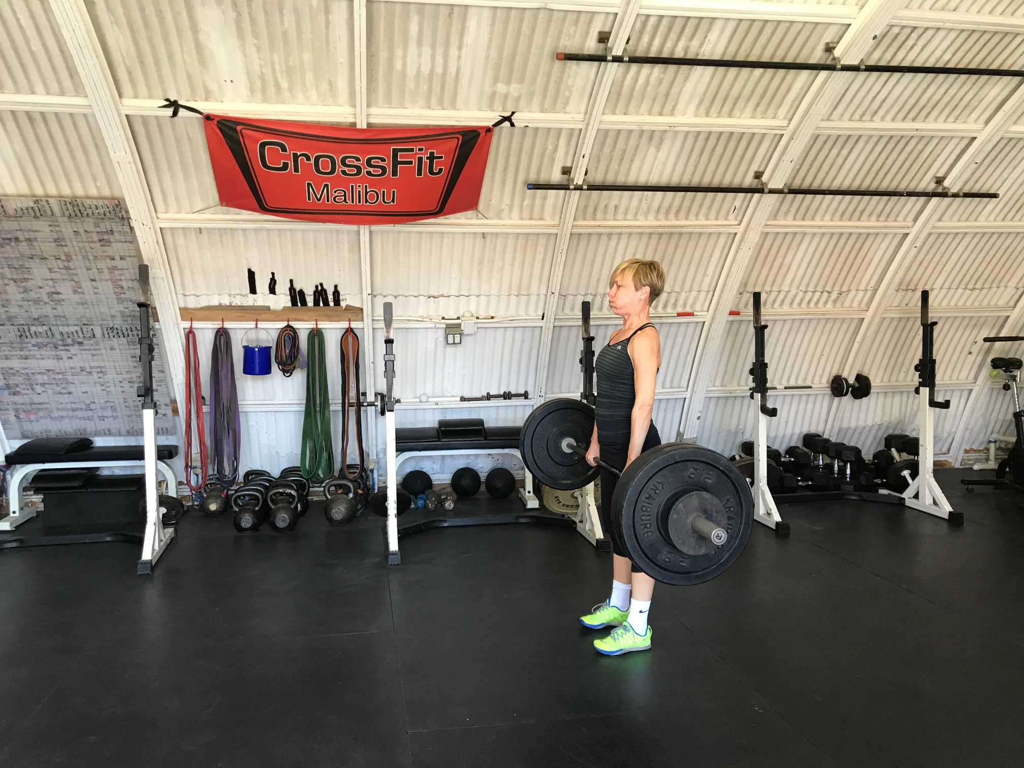 Wednesday 190410 Power Clean Elizabeth | CrossFit Malibu